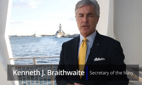 Secretary Of The Navy Wants 6 Smaller & Lighter Aircraft Carriers