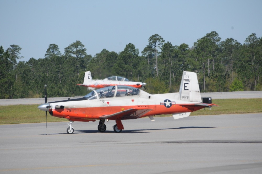 Two U.S. Navy Pilots Killed In Crash Of T-6B Trainer Aircraft Near Magnolia Springs