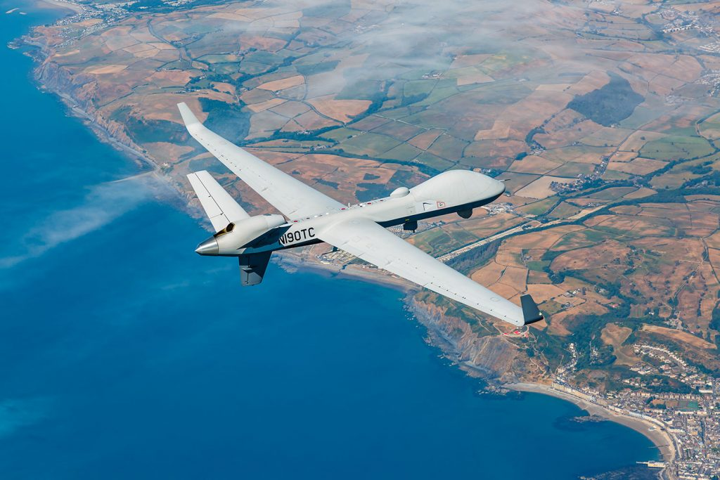 India Leases Two American MQ-9B Sea Guardians Drones