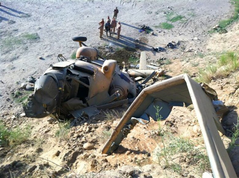 Nine dead as Afghan Army helicopter crash-landed in the Maidan Wardak province