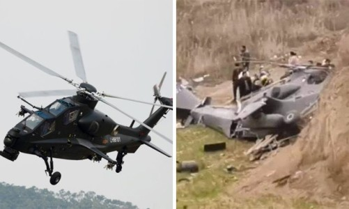 Chinese MOD Confirms Z-10 Helicopter Crash Reports
