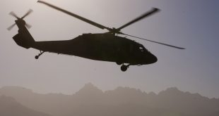 3 killed in Afghan Army helicopter crash