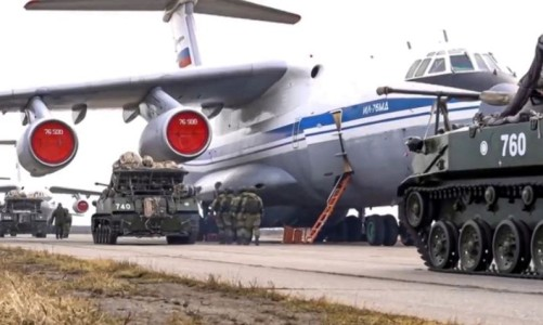 Russia withdraws Troops From Ukraine Border