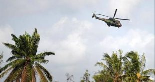 Sudan Armed Forces Helicopter crashes at Kenana Air Base