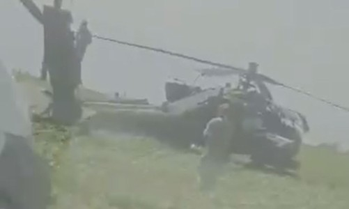 U.S. Army Helicopter Made Emergency Landing In Romania