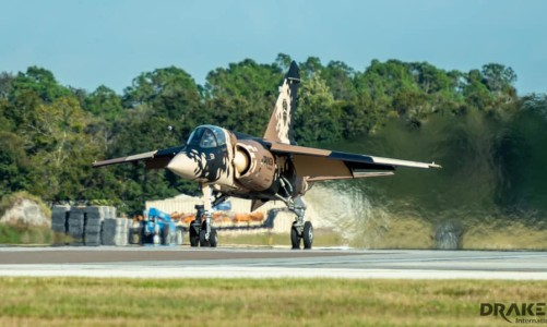 Draken Mirage F1 Crashes Killing Pilot