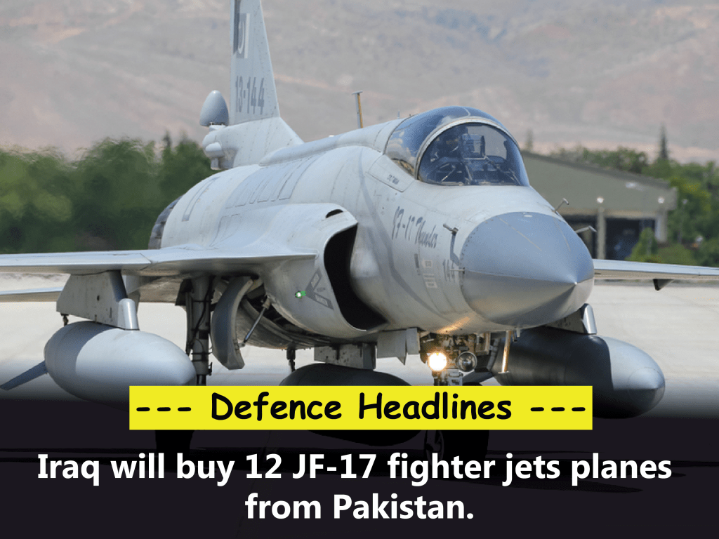 image of Iraq to buy 12 JF-17 fighter jets planes from Pakistan