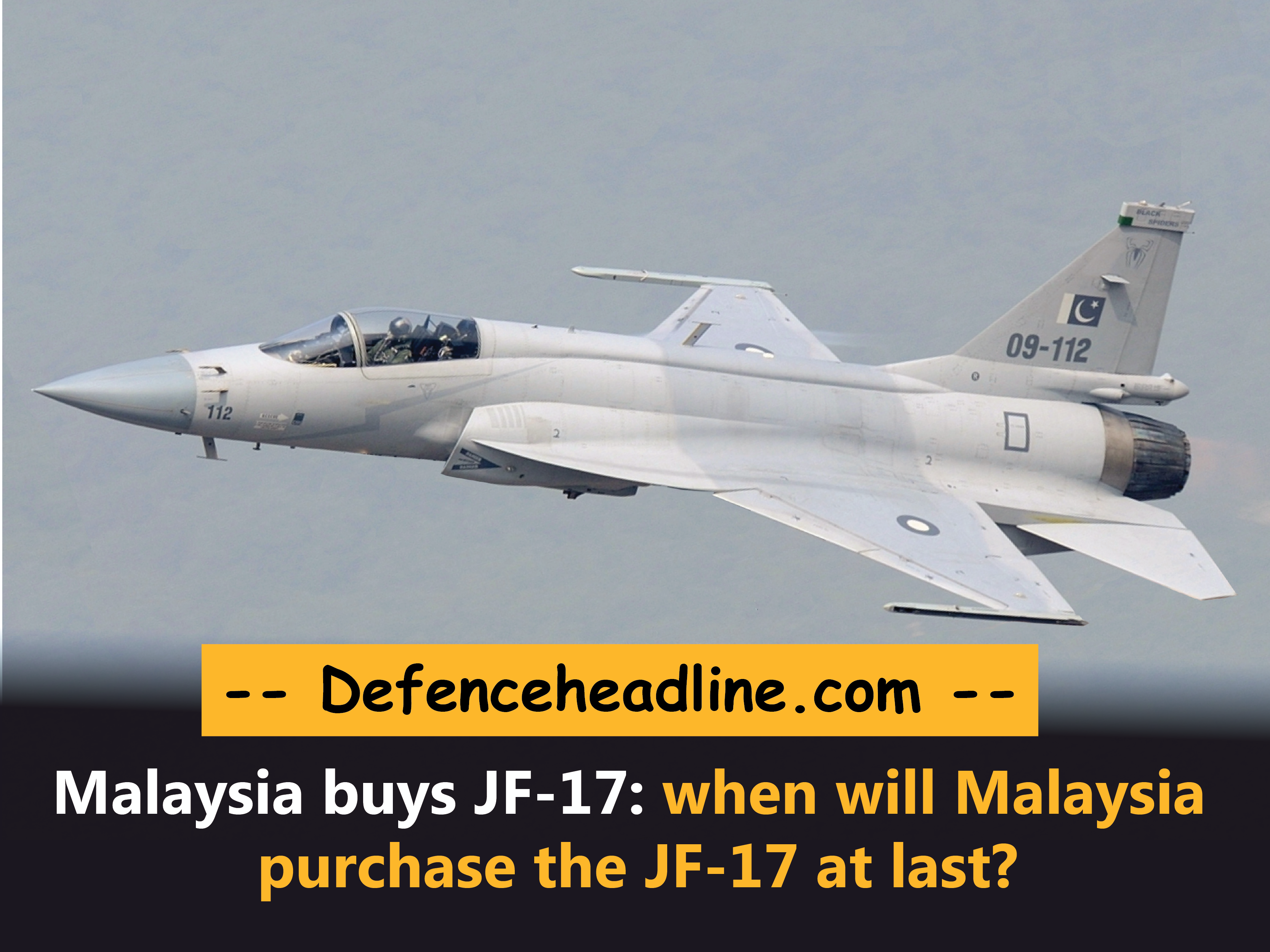 image of Malaysia buys JF-17 from Pakistan
